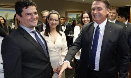 10.12.2018, Brasília/DF - Sergio Moro antes da cerimônia de diplomação de Jair Bolsonaro como presidente da República. Foto: Roberto Jayme/TSE