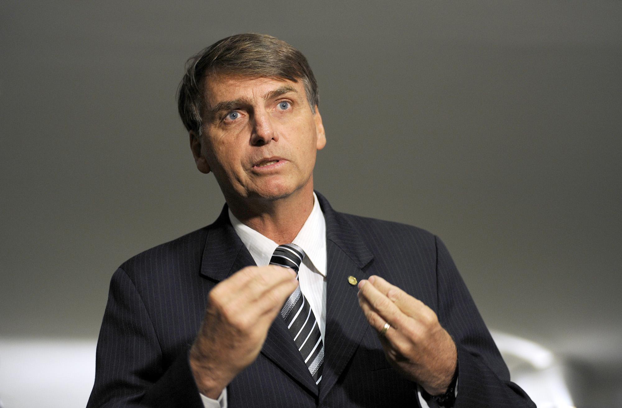 05/05/2010 - Brasília/DF - Jair Bolsonaro fala sobre Comissão da Verdade. Foto: Janine Moraes
