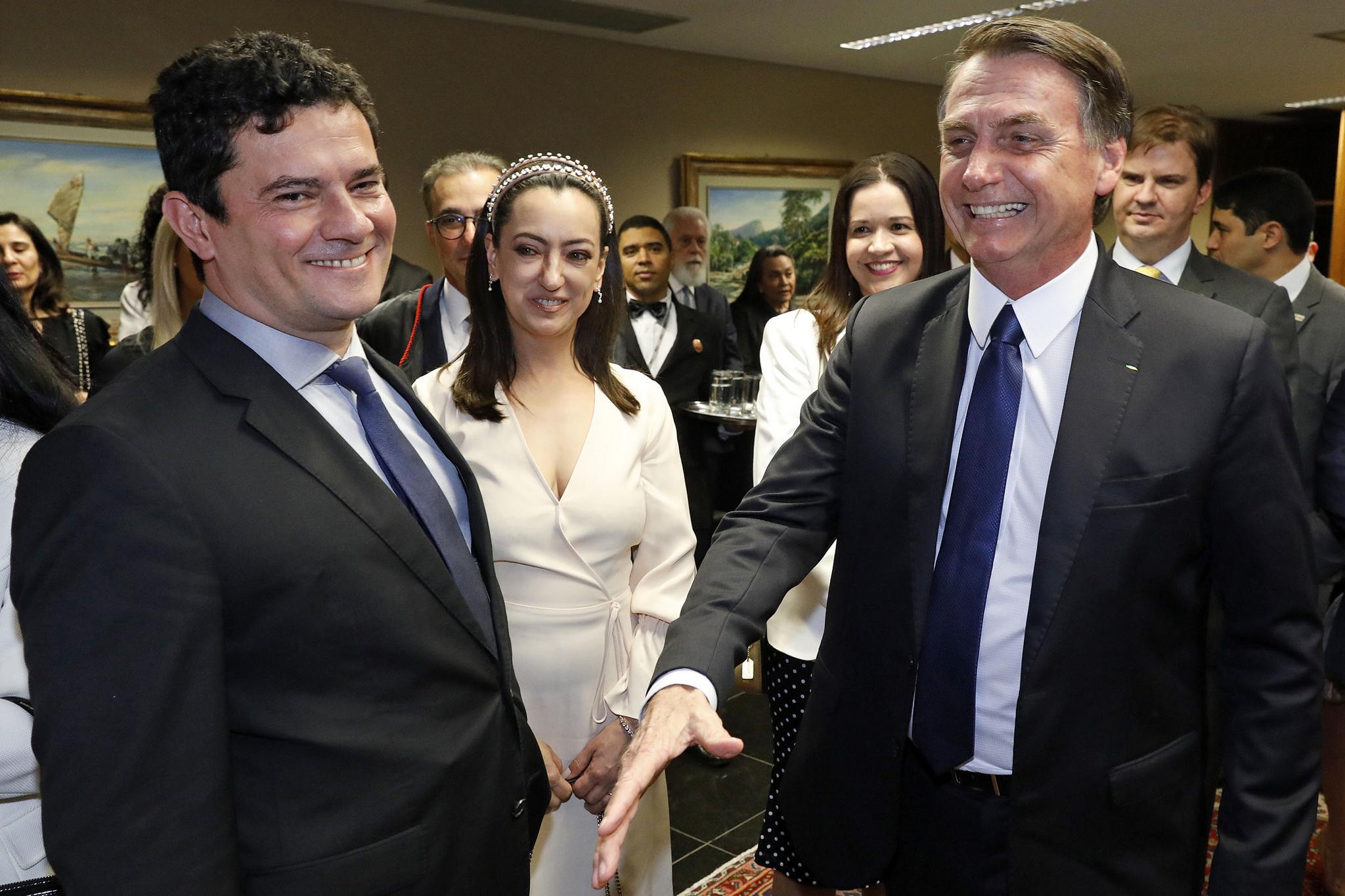 10.12.2018 - Brasília/DF - Sérgio Moro e esposa prestigiam a cerimônia de diplomação de Jair Bolsonaro. Foto: Roberto Jayme/Ascom/TSE