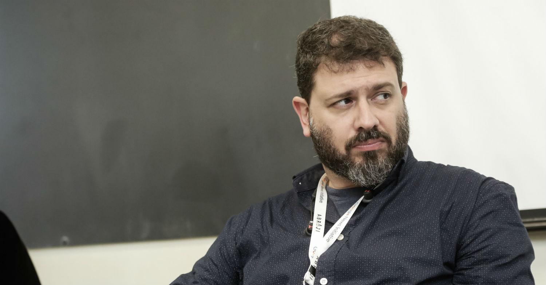 29.06.2018 - Pedro Doria participa de palestra sobre na Associação Brasileira de Jornalismo Investigativo. Foto: Alice Vergueiro/Abraji