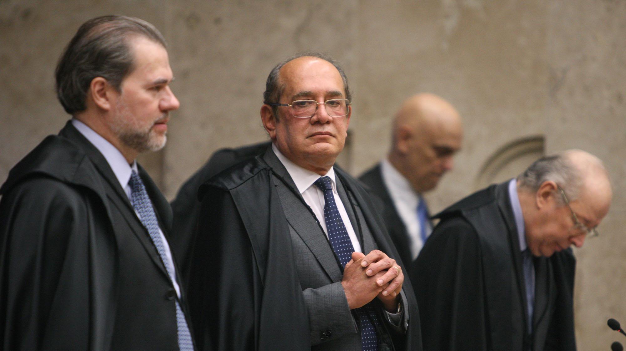 08.08.2018 - Brasília/DF - O STF elegeu Dias Toffoli para presidir o Tribunal e o Conselho Nacional de Justiça até 2020. Foto: Nelson Jr./SCO/STF